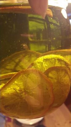 Orangen-Olivenöl